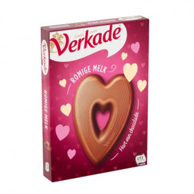 Verkade Herz Vollmilchschokolade 135g