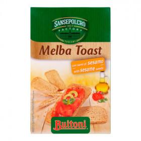 Van der Meulen Melba toast sesam 120g